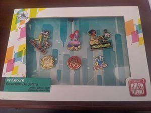 Ralph Breaks the Internet Disney Pin Set LE 4200 for Sale in Chandler, AZ