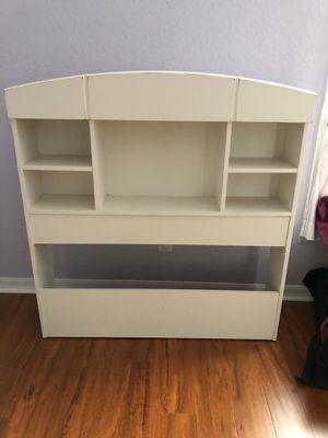 Shelves/headboard (twin size bed) for Sale in Wellington, FL