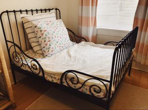 Extendable toddler to twin bed frame x2 for Sale in Tacoma, WA