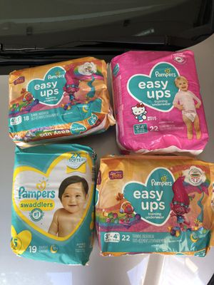 Unopened diapers size 5/6 for Sale in Washington, DC