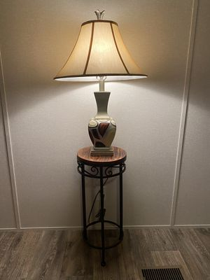 Nightstand & lamp for Sale in Phoenix, AZ