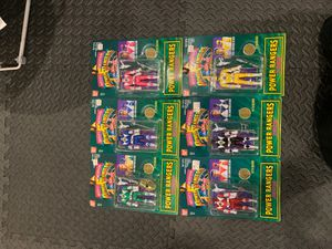 Vintage 1998 All 6 Morphing Mighty Morphing Power Ranger Action figures for Sale in Washington, DC