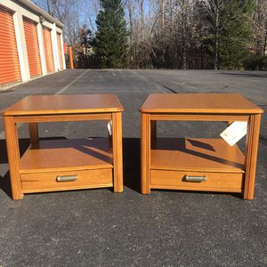 Broyhill side tables for Sale in Lake Ridge, VA