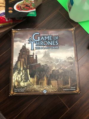 Game of Thrones board game for Sale in Westminster, CA