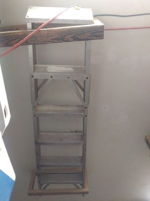6' aluminium ladder for Sale in Channelview, TX