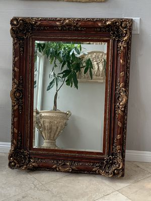 """51""""x37"""" Absolutely gorgeous a stunning mirror. One of a kind very elegant and high end.its look better in person must see for Sale in Laguna Niguel, CA"""