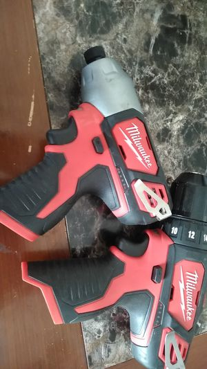 12 v 1/2 impact driver and 3/8 drill driver for Sale in Chester, VA