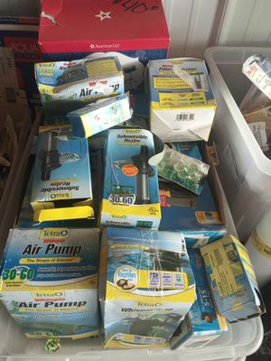 Aquarium filters and pumps for Sale in Buffalo, NY