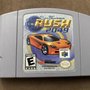 Rush 2049 - Nintendo 64 Game for Sale in Los Angeles, CA