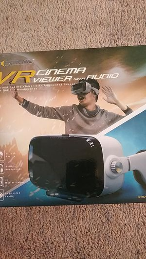 VR Cinema Viewer with Audio for Sale in Darien, IL
