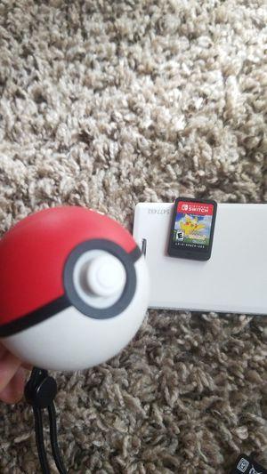 Pokemon Lets Go Pikachu and Pokeball Plus for Sale in Tucker, GA