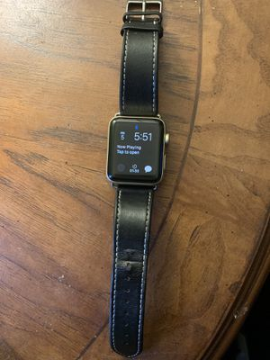 Apple Watch Series 2 42mm gold for Sale in Windsor, CT