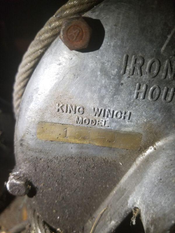 Winch PTO old school vintage koenig