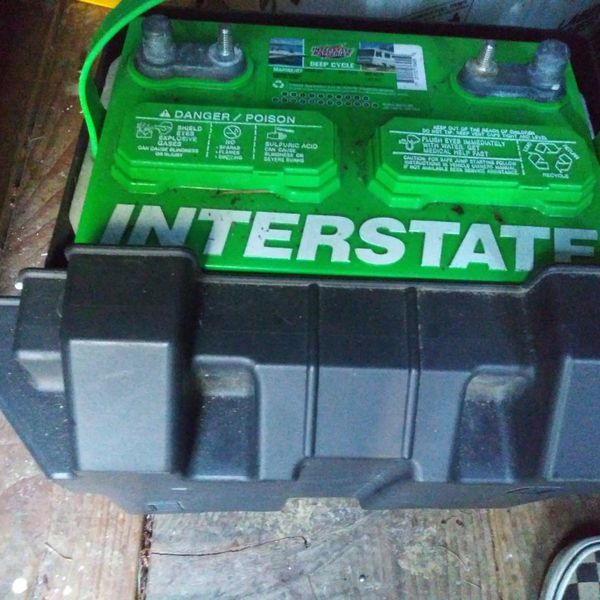 Interstate Group 24 Deep Cycle Battery