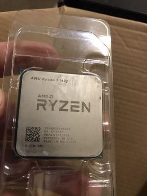 Ryzen 5 1400 CPU for Sale in Fresno, CA