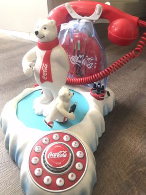 Coca Cola Polar Bear Phone for Sale in Baxley, GA