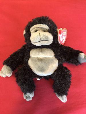 "TY Beanie Baby Tumba the Gorilla 6"" for Sale in Houston, TX"
