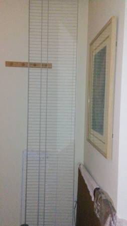 "7 Like New Closet Shelf / Rack Wire Wide ~7-ft10""x15 3/4-in Including Brackets for Sale in HUNTINGTN BCH, CA"