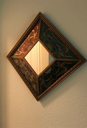 "16"" square wall mirror for Sale in Cedar Park, TX"