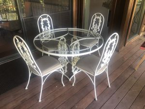 Fancy Classic Iron Patio Furniture for Sale in Carmichael, CA