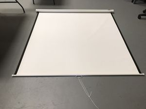 DA-LITE Projector screen. Wall or ceiling mount - never used for Sale in Clearwater, FL