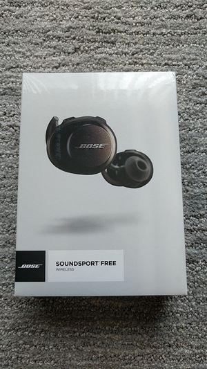Bose Soundsport Free Wireless for Sale in Seattle, WA