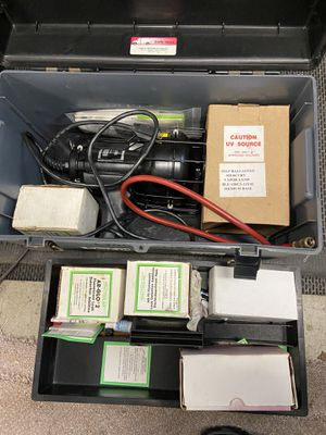 Spectroline Freon leak detector kit. Complete for Sale in Howell Township, NJ