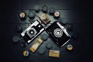 Vintage cameras, Film ect for Sale in Atlanta, GA