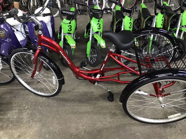 3 Wheeler Adult Tricycle
