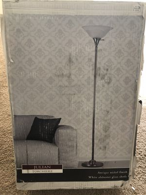 Julian Torchiere Floor Lamp New for Sale in Greer, SC