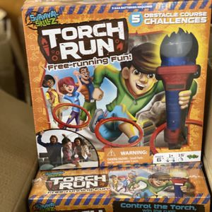 Survival Skills Torch Run Board Game Family Game Obstacle Course Sealed for Sale in Natick, MA
