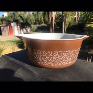 Pyrex woodland casserole dish for Sale in Riverside, CA