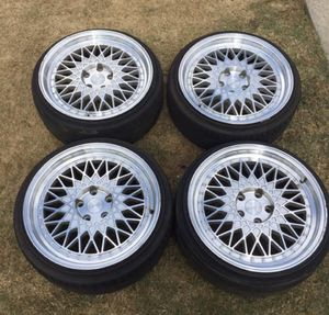 Set of Car Wheels ( Tires + Rims ) for Sale in Lawrenceville, GA