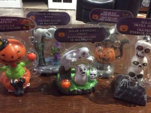 Brand new solar Halloween characters, set of five all different for Sale in Jupiter, FL