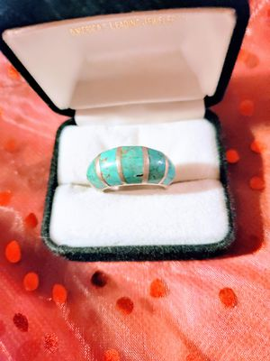 Solid Sterling Silver and Turquoise Ring for Sale in Tampa, FL