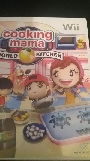 COOKING MAMA World Kitchen (Nintendo Wii + Wii U) for Sale in Lewisville, TX