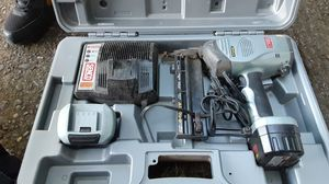 Senco nail gun / makita 18v battery charger for Sale in Portland, OR