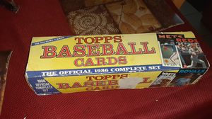 1986 topps baseballcards (whole box)(cards are in good condition) for Sale in Danbury, CT