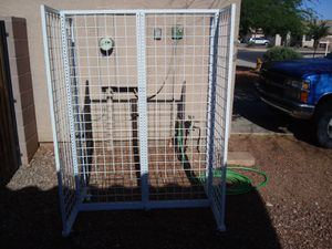 Rolling rack and or shelves (metal) for Sale in Phoenix, AZ