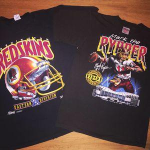 Vintage 1990's Washington Redskins Graphic Sports T Shirt for Sale in Alexandria, VA