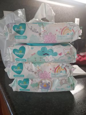 Pampers wipes for Sale in Moreno Valley, CA