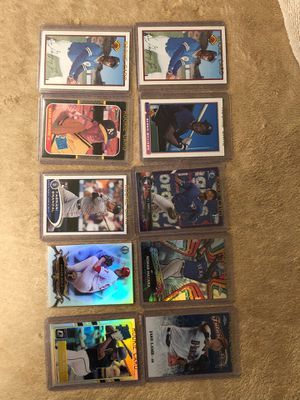 CARDS BASEBALL ROOKIE KEN GRIFFIN JR MARK MCGWIRE MORE 10 ROOKIE CARDS for Sale in Downey, CA