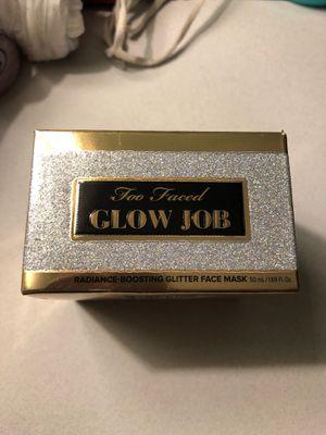 Tarte glow job face mask for Sale in San Jacinto, CA