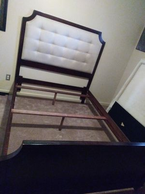 Chris Madden queen bed frame only for Sale in Stone Mountain, GA