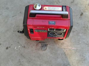 Honda ex 1000 gas generator for Sale in Fresno, CA