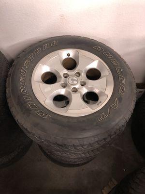 Jeep Wrangler wheels for Sale in Kent, WA
