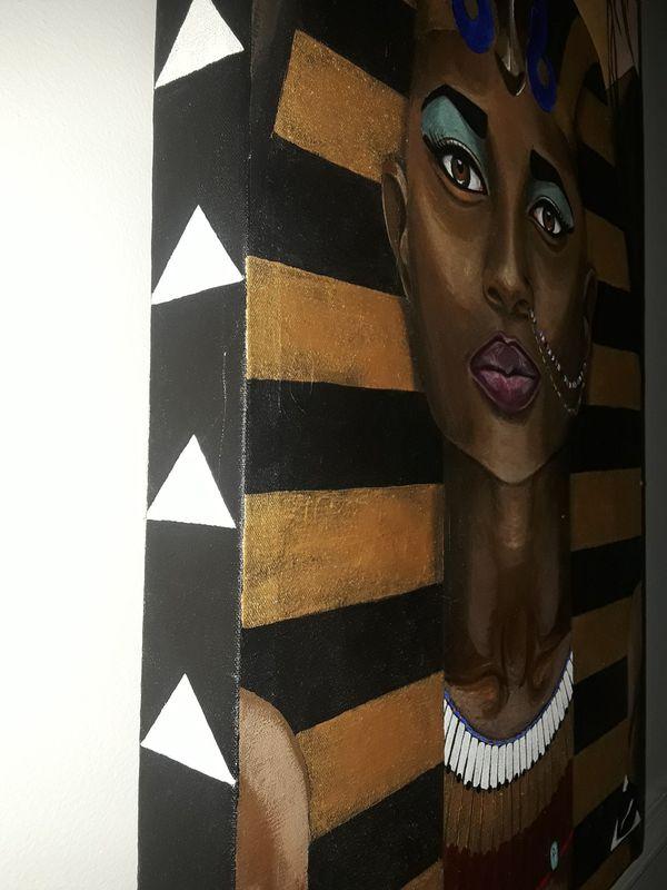 Painting of Pharaoh by Original Artist