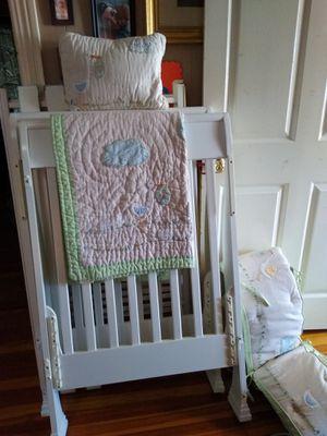 White baby bed for Sale in Gadsden, AL