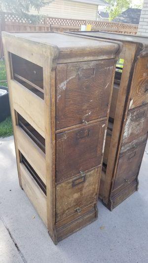 Antique file cabinets for Sale in South Jordan, UT