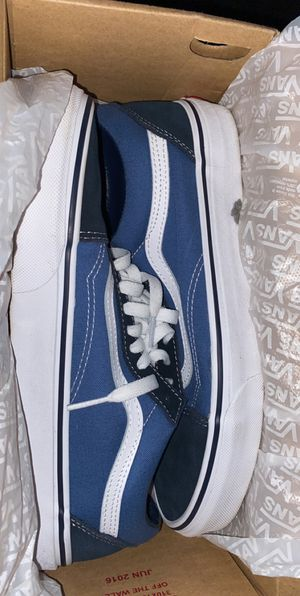 Vans Blue/Dark Blue for Sale in Fresno, CA